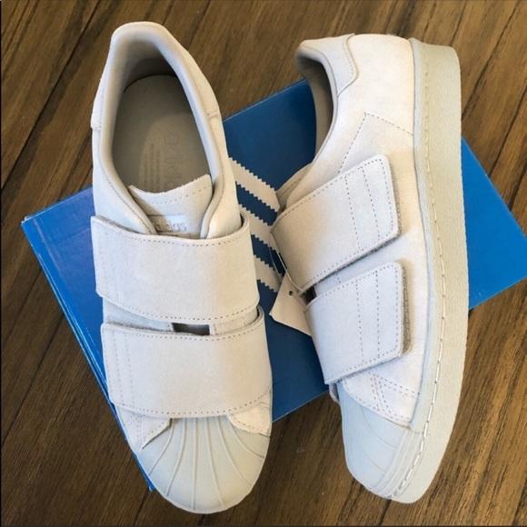 Adidas originals superstar Velcro sneakers NWT